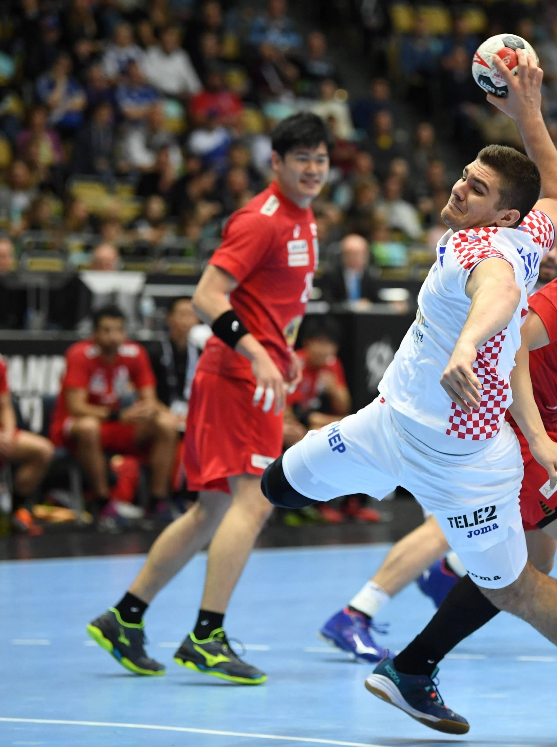 IHF Handball World Championship - Germany & Denmark 2019 - Group B - Croatia v Japan