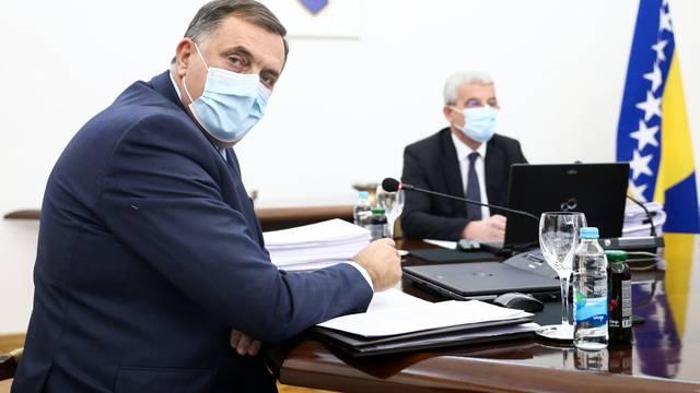 Sarajevo: 18. redovna sjednica Predsjedništva Bosne i Hercegovine