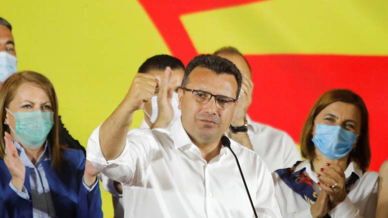 Zaev proglasio pobjedu, ali nije sigurno hoće li sastaviti vladu