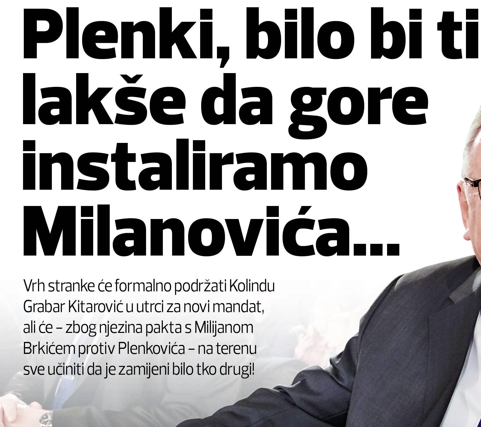 Šeksov gambit: HDZ će tajno podržavati Zorana Milanovića