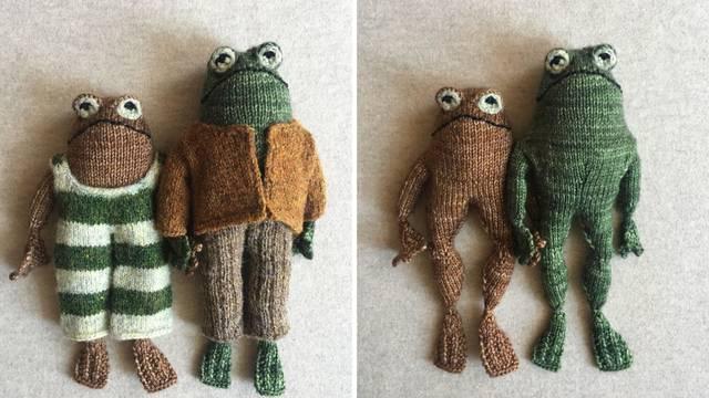 Ručni rad: Preslatke pletene žabe ove umjetnice pravi su hit