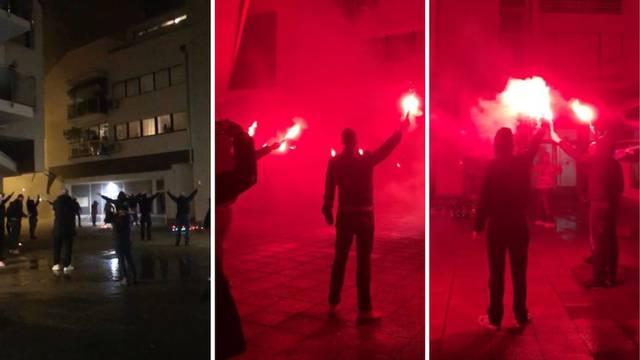 Ti si ponos mog Zagreba grada: Boysi su po pljusku skandirali pred stanom legendarnog Cice