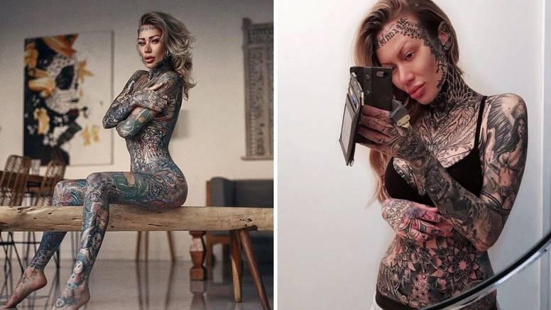 Prelijepa Britanka ima najviše tetovaža: Ljudi me se često boje
