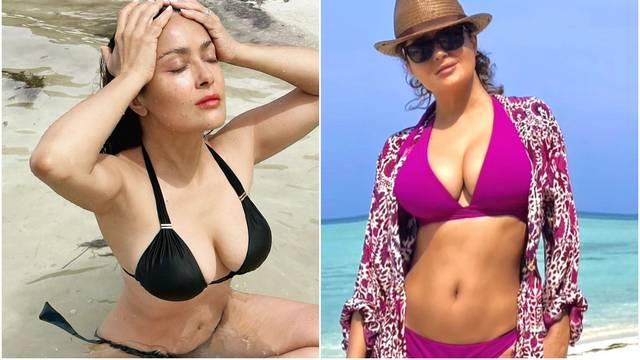Salma Hayek objasnila: Slikam se u bikiniju jer sam smršavila