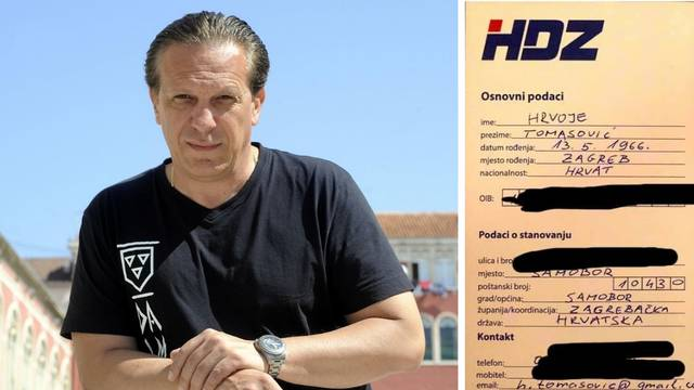 HSP-ov Tomasović učlanio se u HDZ: 'Dosta mi je lažnih vođa'