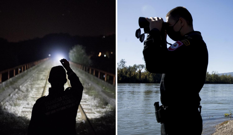Na Drini patrola: Provjerili smo kako se policija na granici BiH i Srbije snalazi s migrantima