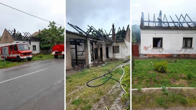 Užas na istoku Hrvatske: Žena zapalila kuću u kojoj je spavala četveročlana obitelj, uhićena je