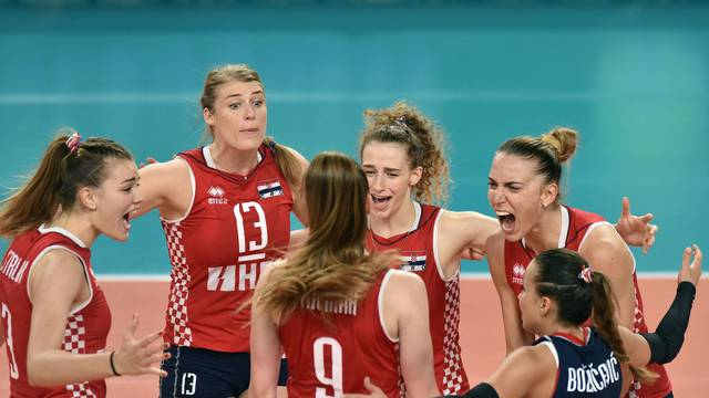 Varaždin: Finale Final foura odbojkaške zlatne lige, Češka-Hrvatska