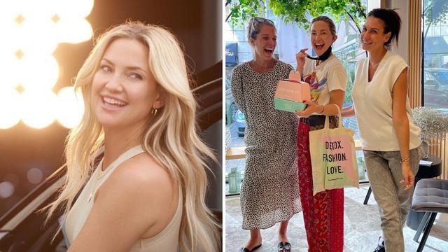 Kate Hudson u  Beogradu pozira s prodavačicama, pa im se potom javila i na Instagramu
