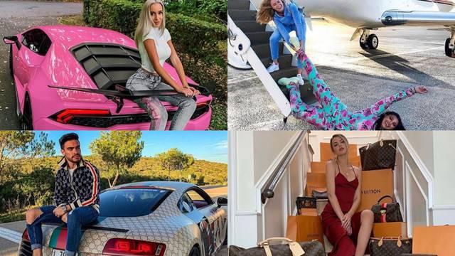 Bogati klinci s Instagrama: Da nema luksuza, ne bi bio Božić!