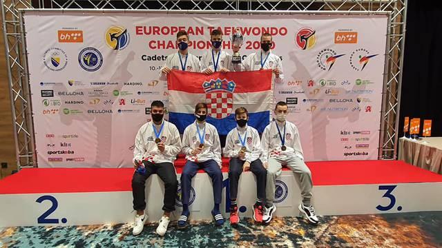 Hrvatski taekwondoaši vraćaju se iz Sarajeva sa sedam medalja