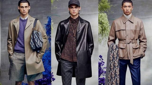 Nova kolekcija Dior Men's za 2021. spaja luksuz  i sportivo stil