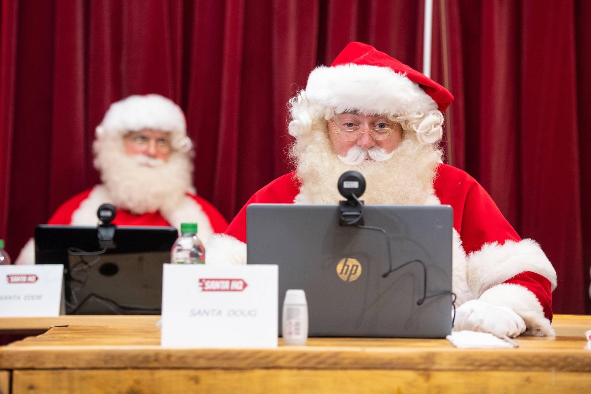 Djed Božićnjak ove godine s djecom će komunicirati putem video poziva