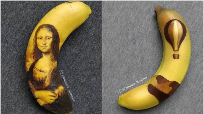 Jeste li ovo ikad vidjeli? Ona od banana stvara umjetnička djela