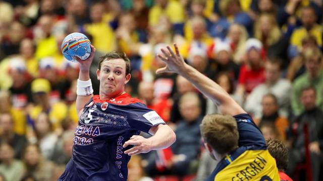 Handball - 2020 European Handball Championship - Main Round Group 2 - Norway v Sweden