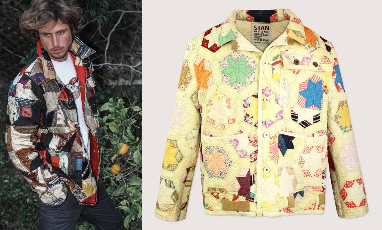 Održiva moda: Američki surfer radi jakne od vintage tkanina