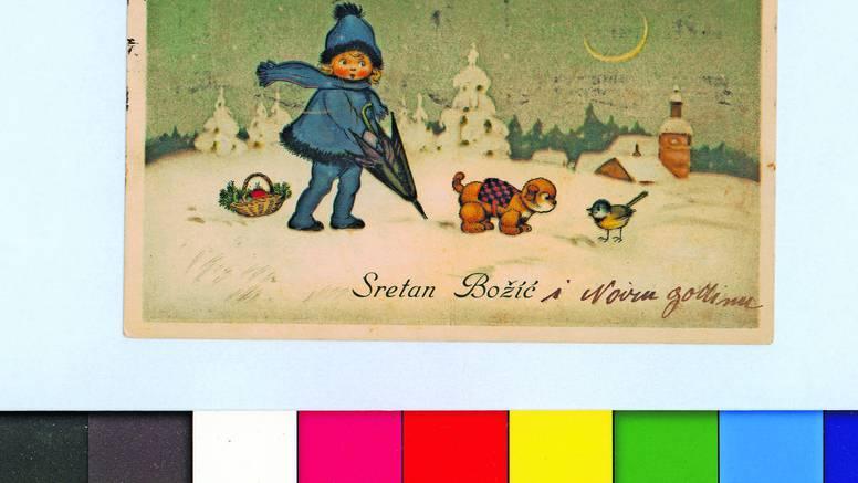 U Grafičkoj zbirci NSK pronađene božićne čestitke starije od 100 godina