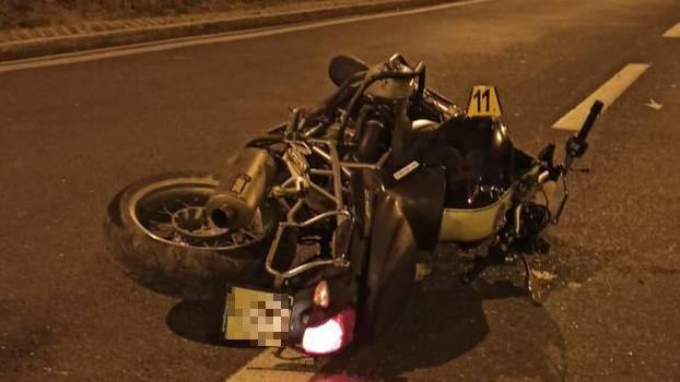 Nesreća u Splitu: Motocikl sletio van ceste, vozač je poginuo
