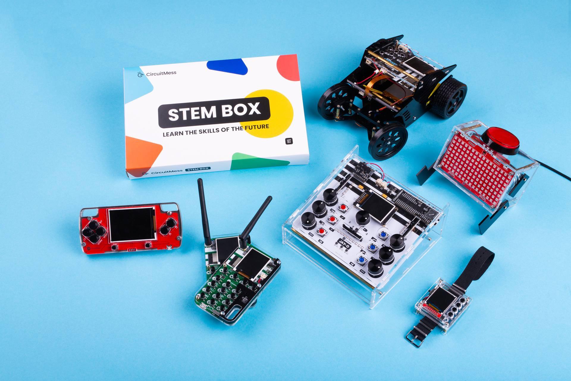 Inovator Albert Gajšak napravio STEM box i u dva dana za duplo premašio cilj na Kickstarteru