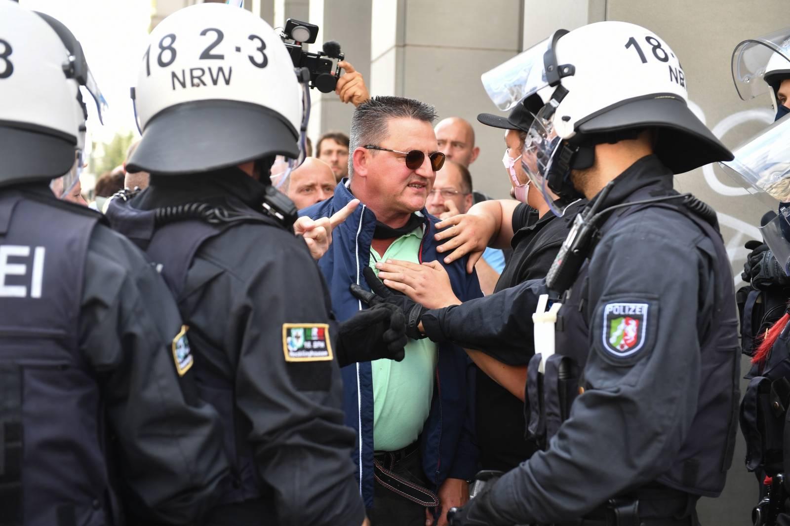 Protest against Corona measures Berlin