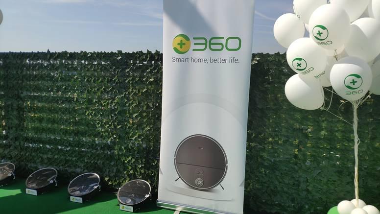 Na hrvatsko tržište stigao je brend 360, kineski div koji radi napredne usisavače s LIDAR-om