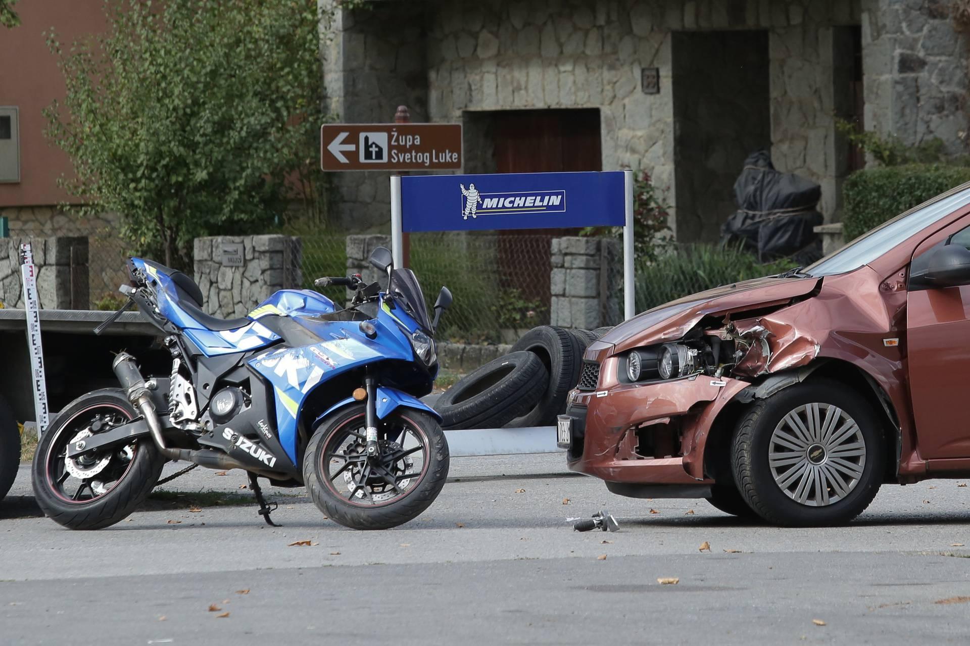 Josipovac: U prometnoj nesreći nedaleko Osijeka poginuo motociklist