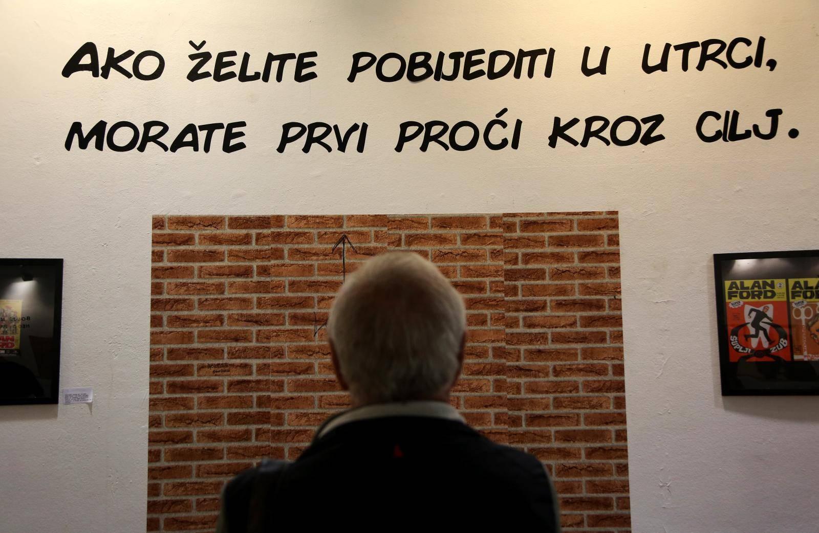 Zagreb: Izložba Crtani romani šou