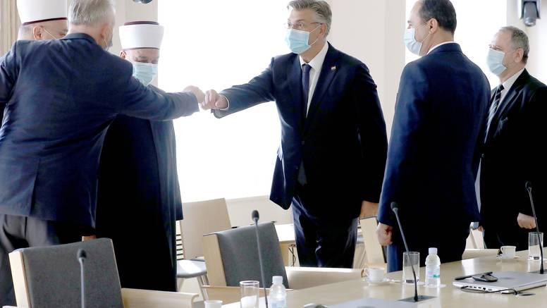 Muftija BiH izrazio zadovoljstvo statusom islamske zajednice u Hrvatskoj, razgovarali i o BiH
