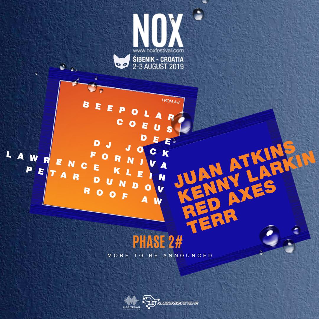 Objavljen drugi val izvođača koji stižu na Nox festival