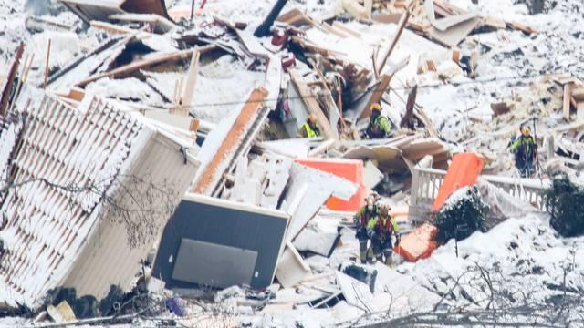 FILE PHOTO: Landslide in Ask