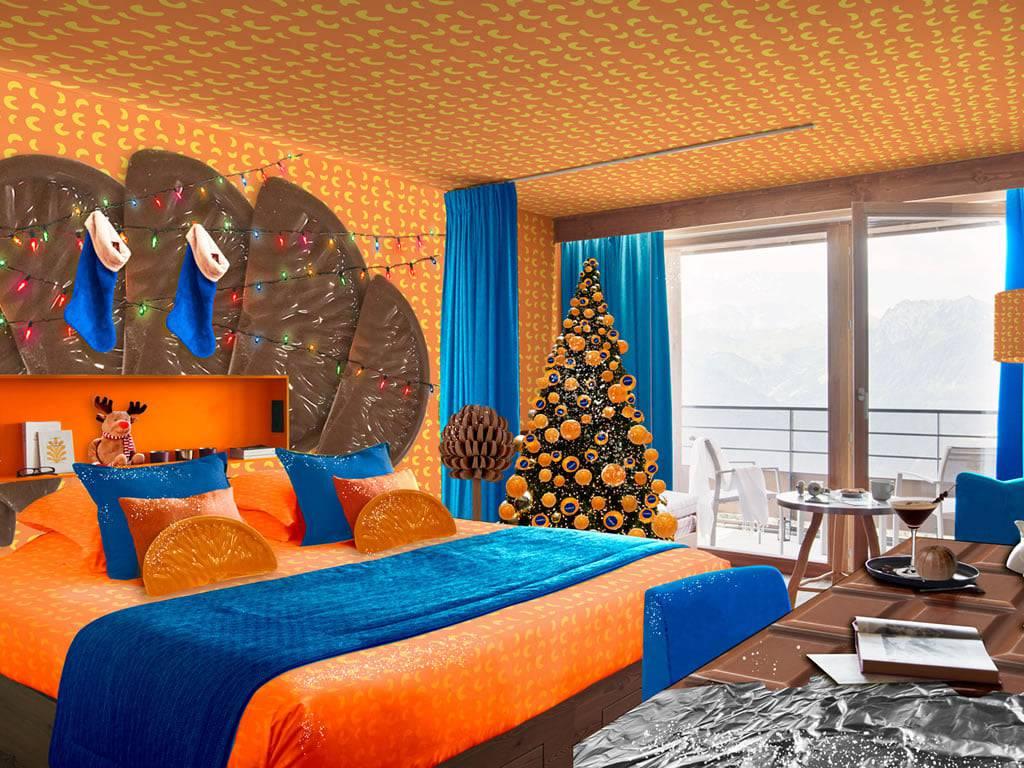 Ne znaš bi li je pojeo ili u njoj spavao - sobu u hotelu uredili kao spoj naranče i čokolade