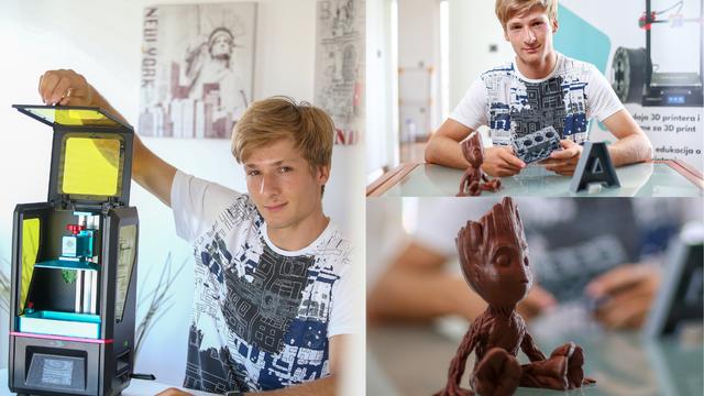 Maturant Leo Gregurić je s 14 godina pokrenuo vlastiti biznis
