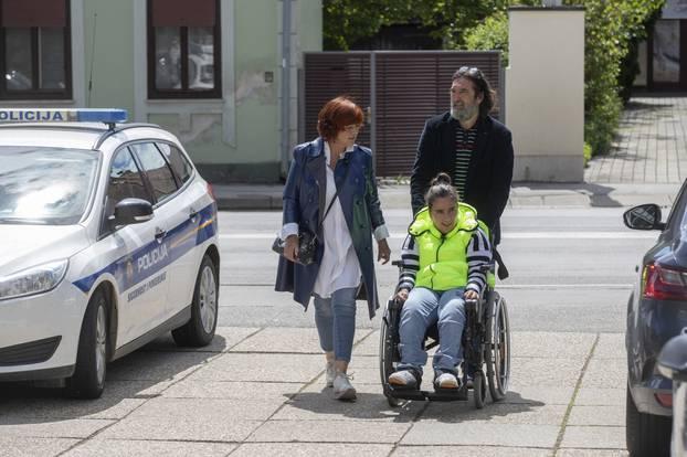 Varaždin: Ivan Čehok sa suprugom i kćerkom stigao na briačko mjesto
