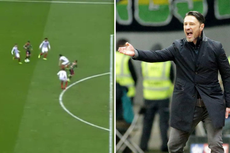 Kovačevi pokradeni! Eintracht ponovo izgubio nakon previda