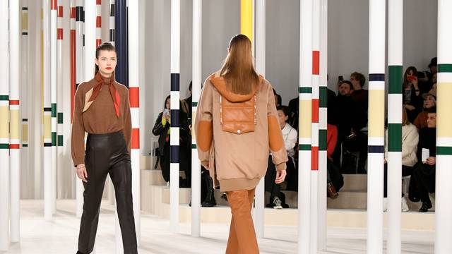 Hermes collection show at Paris Fashion Week