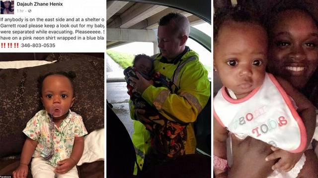 Majka zahvalila policajcu koji je spasio njezinu bebu u poplavi