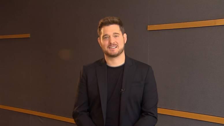 Michael Bublé poslao Hrvatima poruku: 'Slavimo ljubav skupa'