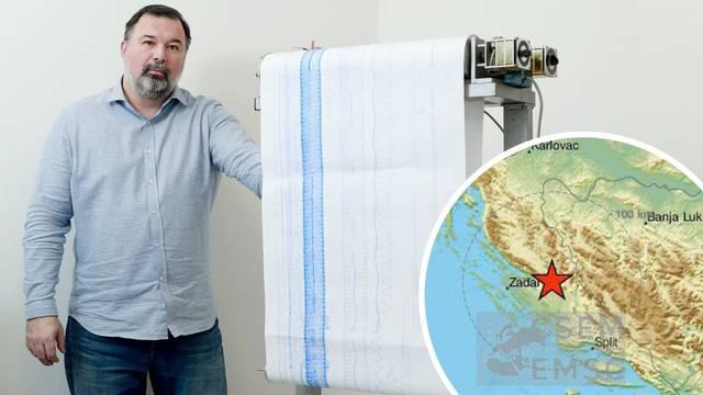 Seizmolog: Potres kod Zadra je uznemirio građane, ali ne treba ga povezivati sa zagrebačkim