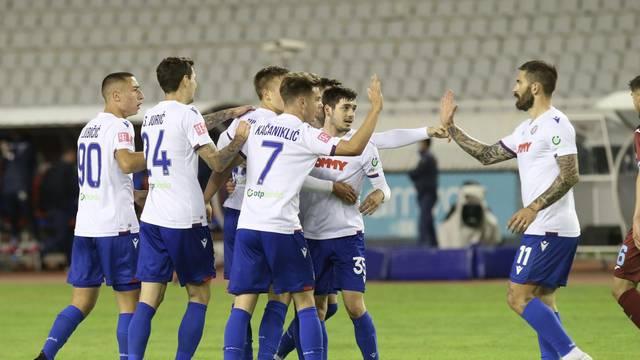 Split: Hajduk i Rijeka sastali se u 32. kolu Prve HNL
