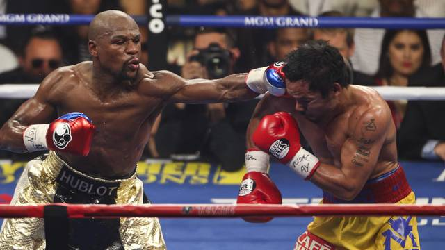Floyd Mayweather Jnr v Manny Pacquiao