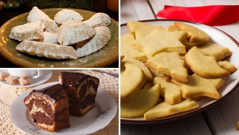 Blagdanski recepti naših baka za medvjeđe šape, mramorni kolač i fine čajne kolačiće