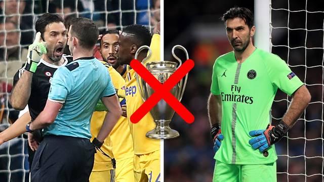 Buffonov san o Ligi prvaka još jednom uništio taj kasni penal