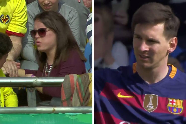 Kakav nokaut: Messi je poslao navijačicu Villarreala u bolnicu