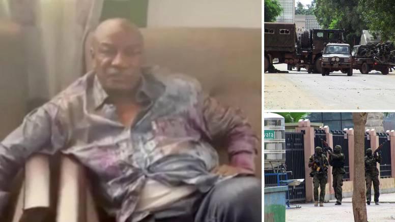Vojni udar: Pobunjenici objavili fotografiju predsjednika Gvineje i tvrde: 'Uhvatili smo ga...'
