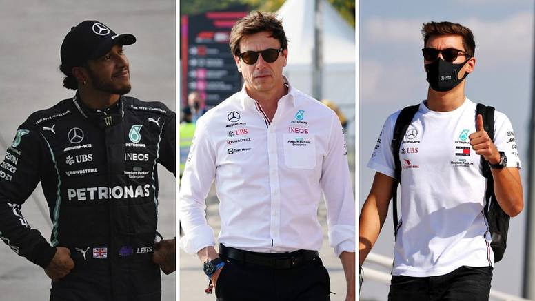 Wolff će paziti s Russellom: Ne želim odnos Hamilton - Rosberg