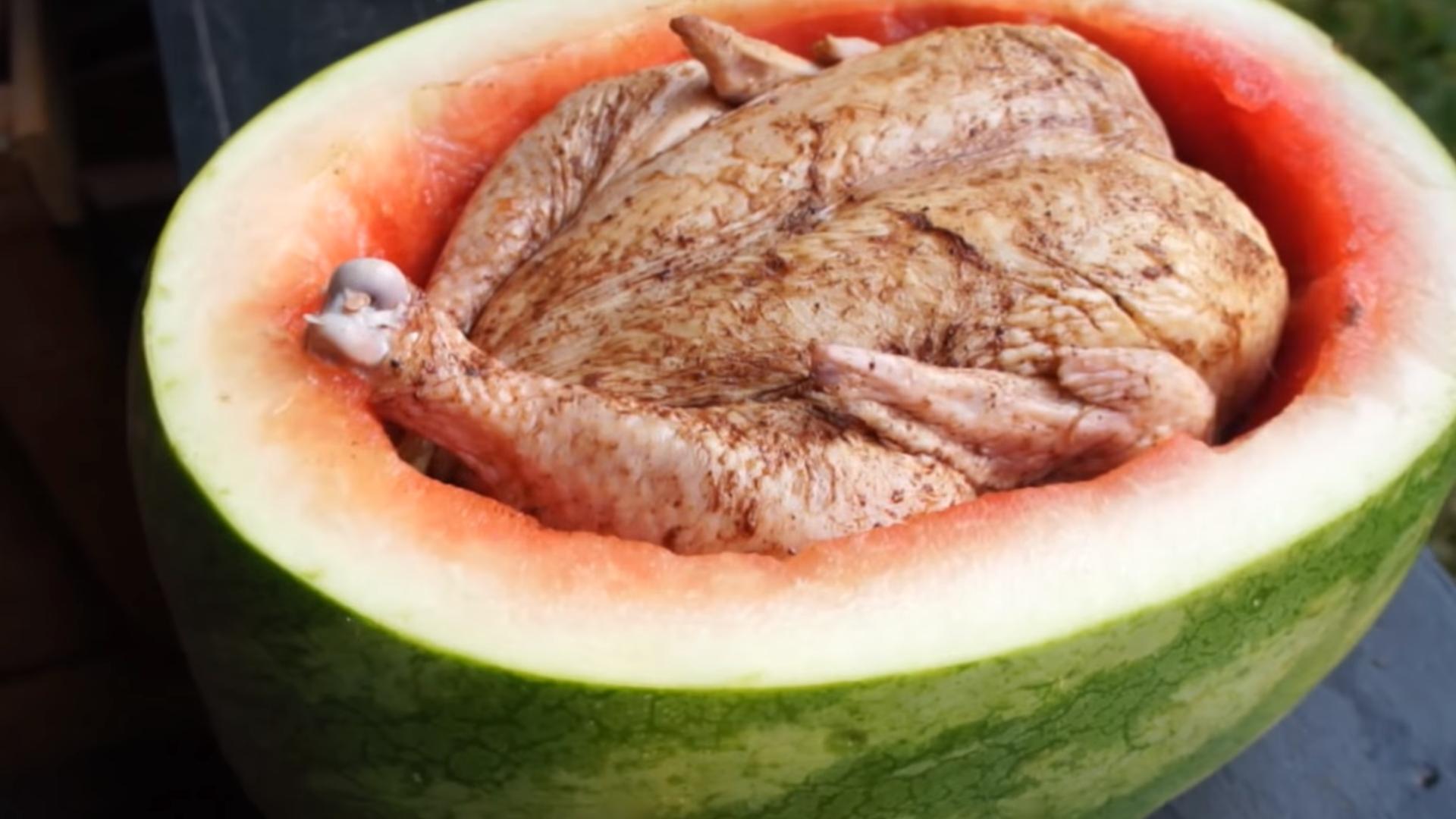 Ispecite pile u lubenici: Takvo nešto još sigurno niste probali