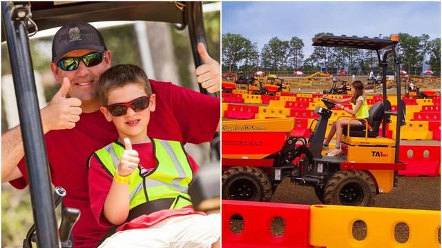 Diggerland: Park u kojem djeca mogu voziti bagere i traktore