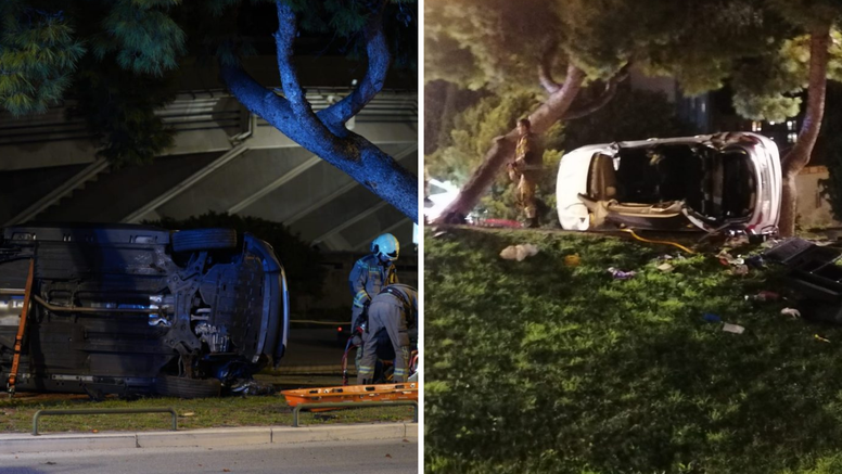 U bolnici preminuo vozač auta koji je izletio s ceste u Splitu