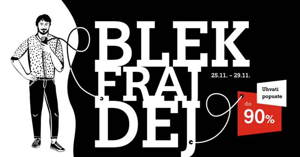 Black Friday na A1 webu