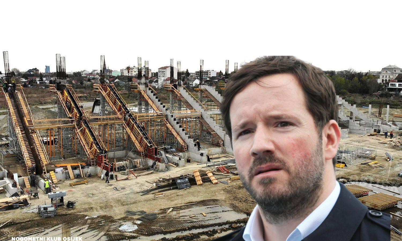 Osijekov stadion dobiva tribine: Ni korona ga neće zaustaviti